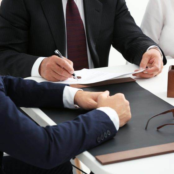 meet with lawyer