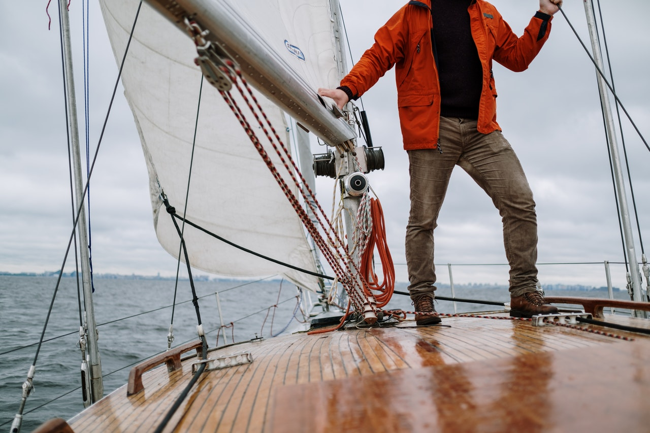 What types of boots should you wear for sailing?